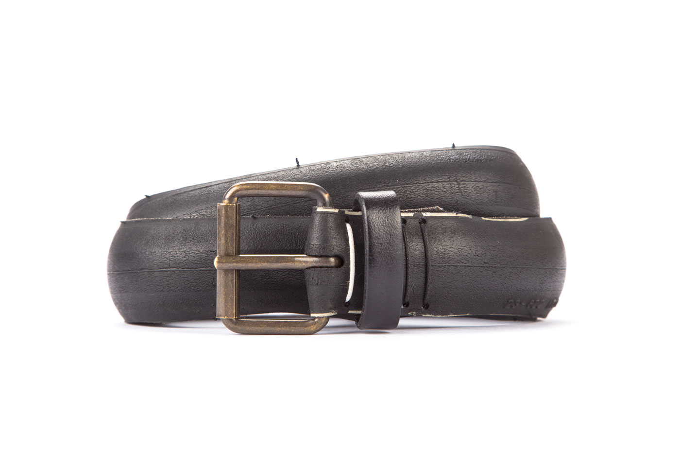 #1785 Black belt from a spare race bicycle tyre