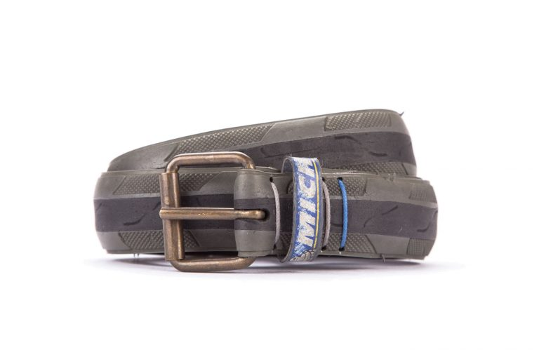 #8448 Coloured belt from a spare race bicycle tyre