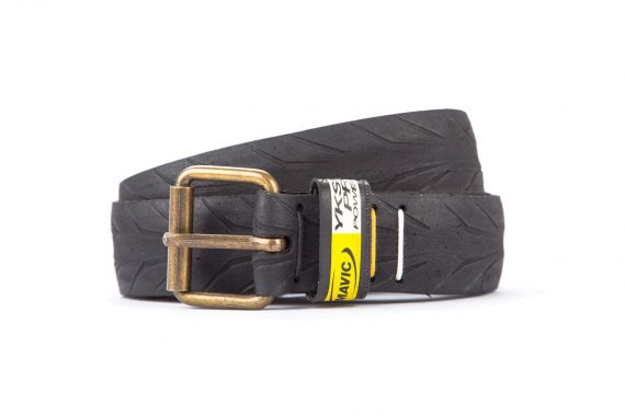 #2234 Black belt from a spare race bicycle tyre