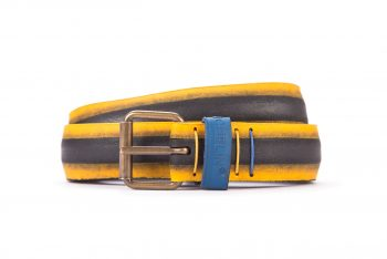 #2387 Coloured belt from a spare race bicycle tyre