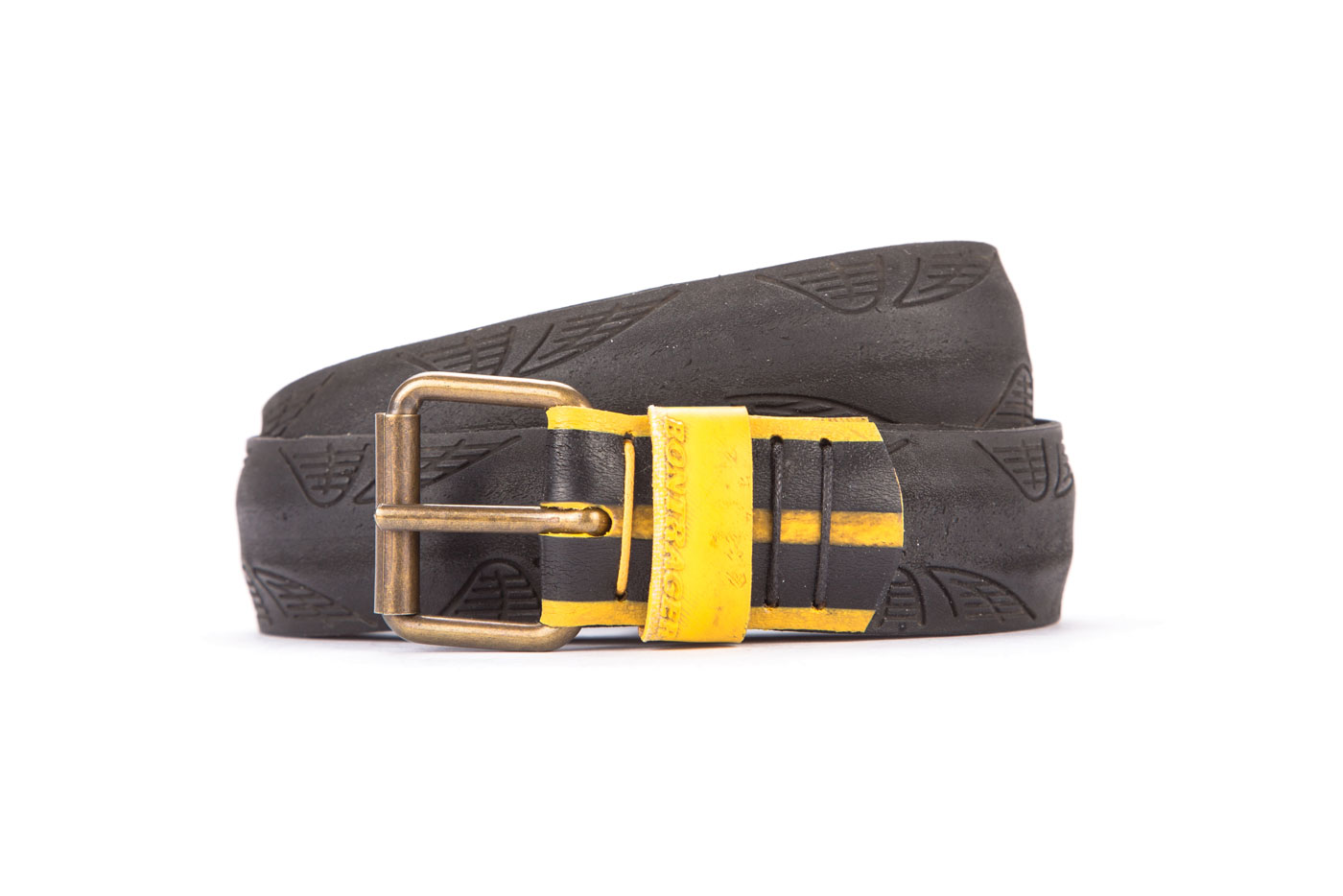 #2453 Black belt from a spare race bicycle tyre