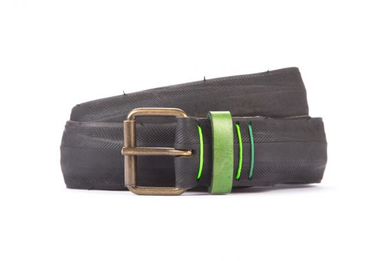 #8207 Black belt from a spare race bicycle tyre