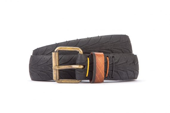#2635 Black belt from a spare race bicycle tyre