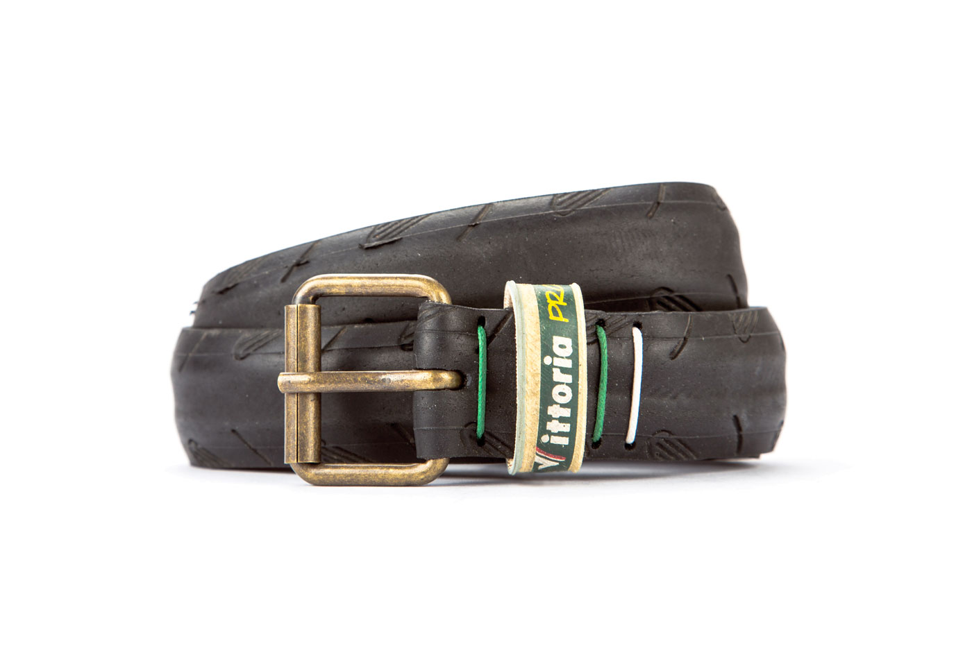 #2647 Black belt from a spare race bicycle tyre