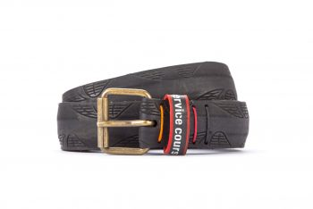 #2714 Black belt from a spare race bicycle tyre
