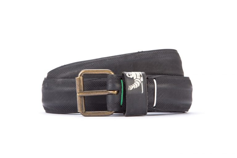 #2743 Black belt from a spare race bicycle tyre