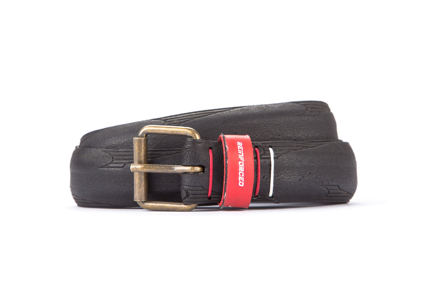 #2814 Black belt from a spare race bicycle tyre