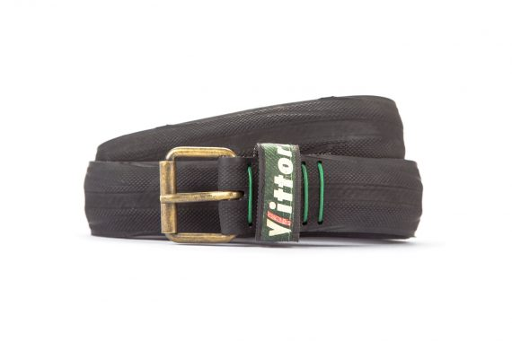 #2864 Black belt from a spare race bicycle tyre