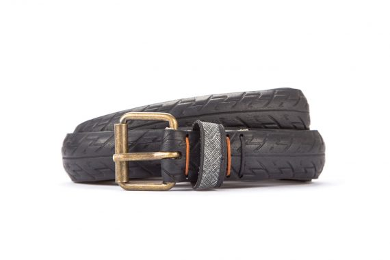 #2865 Black belt from a spare race bicycle tyre