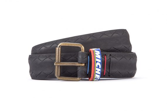 #2869 Black belt from a spare race bicycle tyre