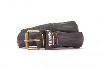 #2873 Black belt from a spare race bicycle tyre