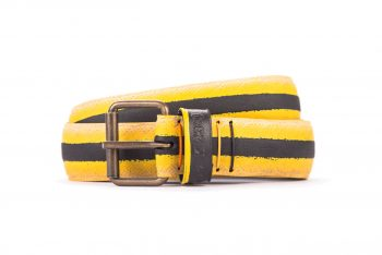 #2698 Coloured belt from a spare race bicycle tyre