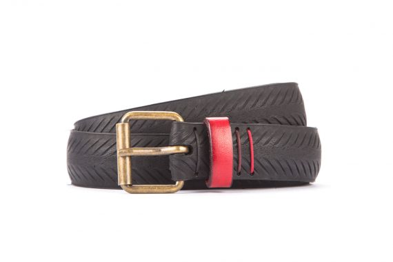 #8293 Black belt from a spare race bicycle tyre