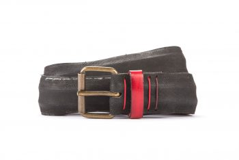 #2957 Black belt from a spare race bicycle tyre