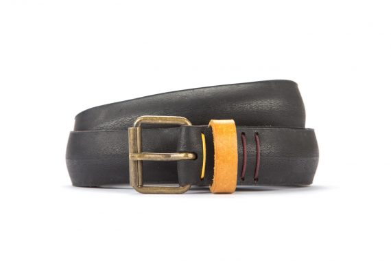 #8327 Black belt from a spare race bicycle tyre