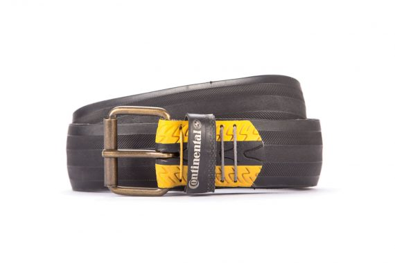 #2961 Black belt from a spare race bicycle tyre