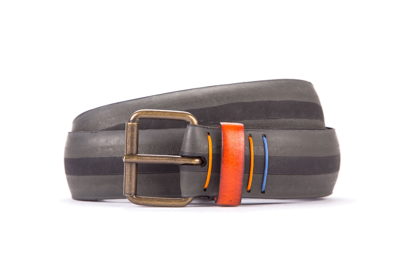#8251 Coloured belt from a spare race bicycle tyre