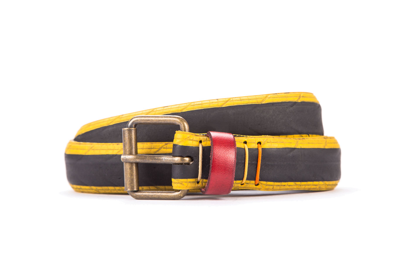 #8220 Coloured belt from a spare race bicycle tyre