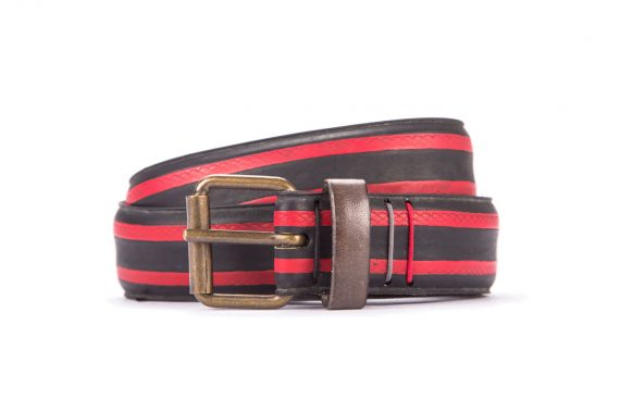 #2997 Coloured belt from a spare race bicycle tyre