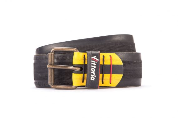 #3026 Black belt from a spare race bicycle tyre