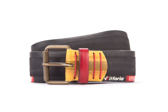 #3056 Black belt from a spare race bicycle tyre