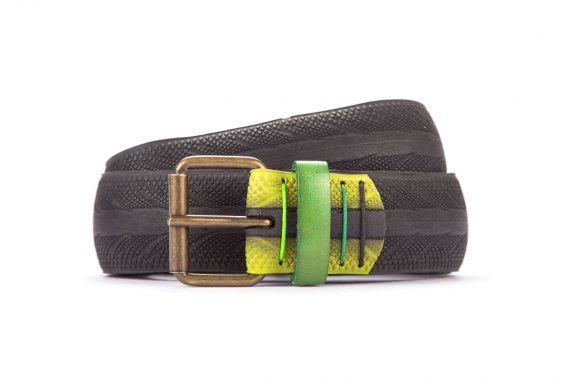 #3063 Black belt from a spare race bicycle tyre